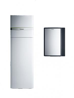 Тепловой насос с источником тепла - грунтовые воды Vaillant, flexoCOMPACT exclusive VWF 88/4  - фото