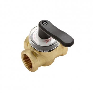 Клапан поворотный 3х ходовой  Danfoss HRB 3, Ду = 15 мм, Kvs = 2,5 м3/ч  - фото