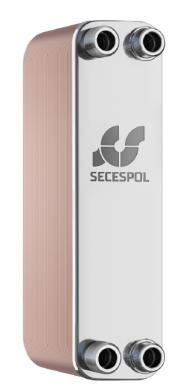 Теплообменник паяный испаритель/конденсатор Secespol, RHB47  - фото