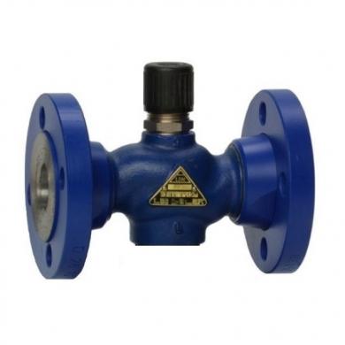 Седельные регулирующие клапаны двухходовые LDM  RV111 R2../F, фланец, без привода DN 15-40  - фото
