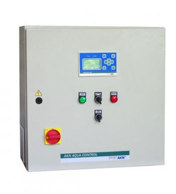 Щит управления и автоматики АКN AQUA CONTROL-1F/S-5.5  - фото