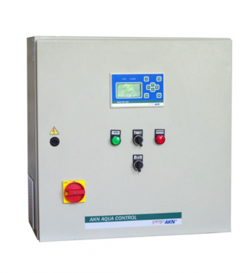 Щит управления и автоматики АКN AQUA CONTROL-1F/S-0.75  - фото
