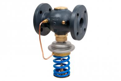 Моноблочный регулятор давления «до себя», Danfoss AVA, Ду = 50 мм, 1,0 – 4,5 бар  - фото