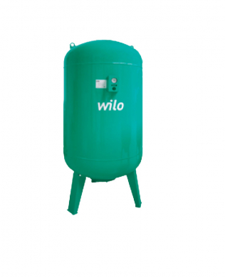 Расширительный мембранный бак Wilo-U 500/16 бар / 70°С  - фото