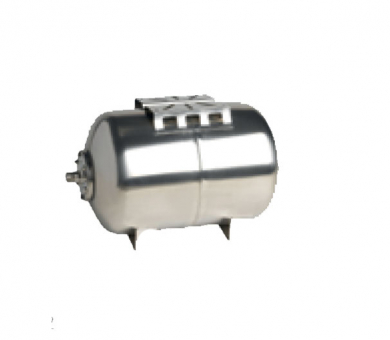 Расширительный мембранный горизонтальный бак Wilo-A Inox AISI 304, 50/10 бар h / -10...+100°С  - фото